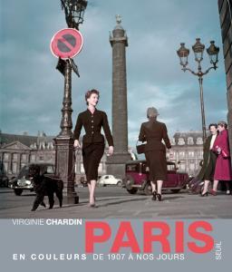 couverture Paris en couleurs