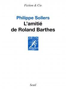 couverture L'Amitié de Roland Barthes
