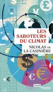 couverture Les Saboteurs du climat