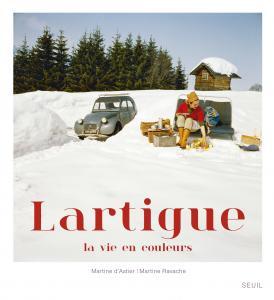 couverture Lartigue, la vie en couleurs