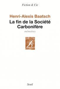 couverture La Fin de la société carbonifère
