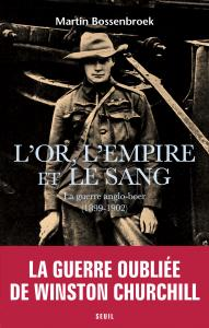 couverture L'Or, l'Empire et le Sang