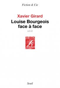 couverture Louise Bourgeois face à face