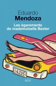 couverture Les Égarements de mademoiselle Baxter