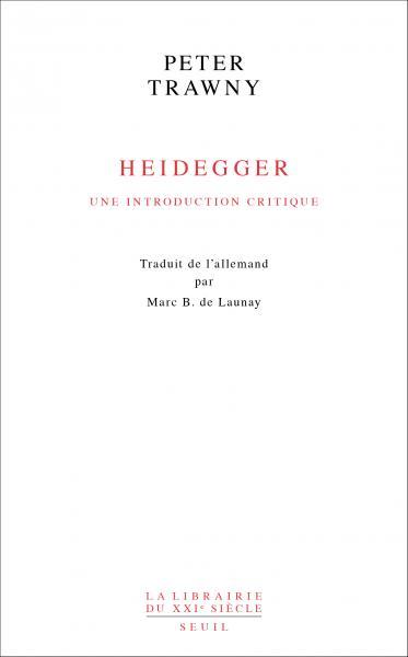 La pensée de Heidegger est plus contestée que jamais depuis la publication des Cahiers noirs. Book Cover