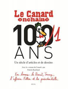 couverture Le Canard enchaîné, les Cent un ans