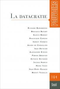 couverture Pouvoirs, n°164. La Datacratie