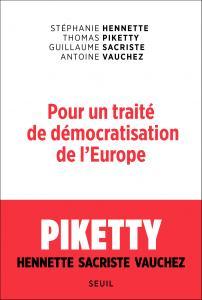 couverture Pour un traité de démocratisation de l'E...