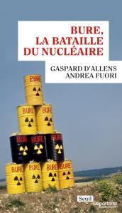 couverture Bure, la bataille du nucléaire