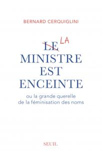 couverture Le Ministre est enceinte