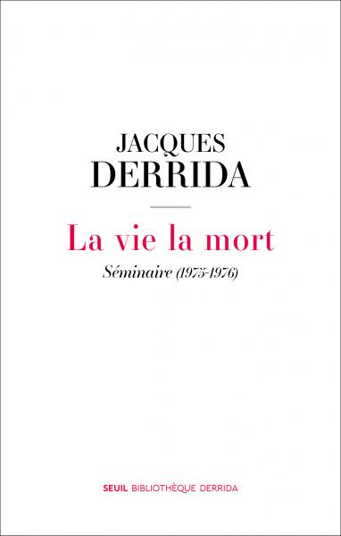 La Vie la mort: Séminaire (1975-1976) Couverture du livre