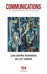 couverture Communications, n° 104. Les Droits humai...
