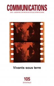 couverture Communications, n° 105. Vivants sous terre