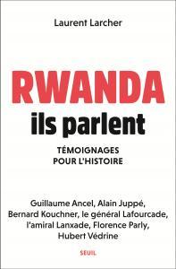 couverture Rwanda, ils parlent