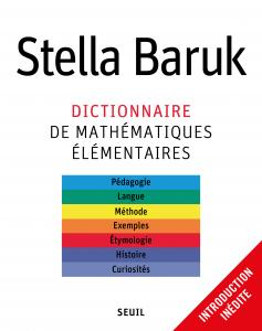 couverture Dictionnaire de mathématiques élémentaires