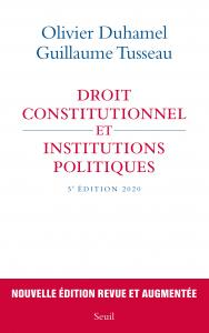 couverture Droit constitutionnel et institutions po...