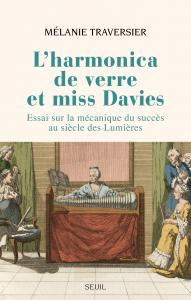couverture L'Harmonica de verre et miss Davies