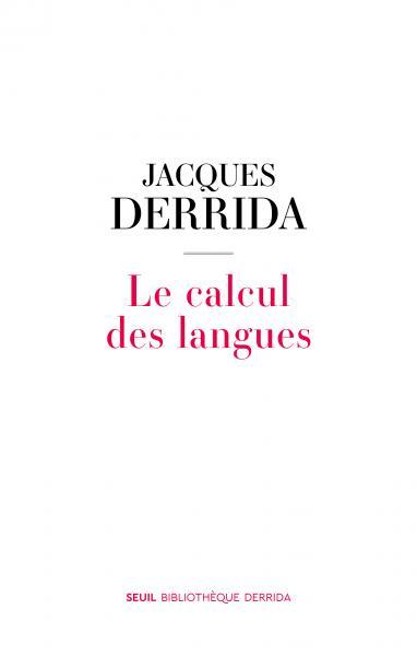 Le Calcul des langues Book Cover