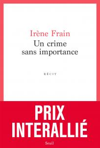 couverture Un crime sans importance