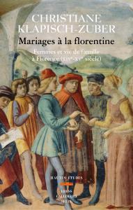 couverture Mariages à la florentine