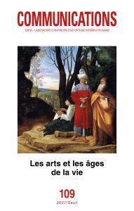 couverture Communications, n° 109. Les Arts et les ...