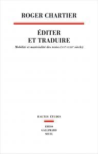 couverture Éditer et Traduire