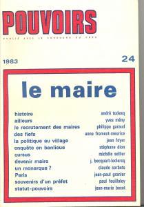 couverture Pouvoirs, n° 24