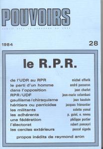 couverture Pouvoirs, n° 28