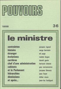 couverture Pouvoirs, n° 36