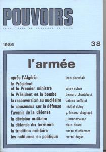 couverture Pouvoirs, n° 38