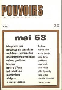 couverture Pouvoirs, n° 39