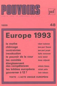 couverture Pouvoirs, n° 48