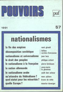 couverture Pouvoirs, n° 57