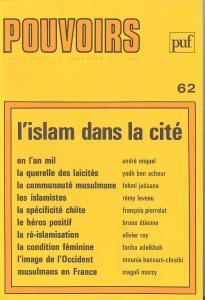 couverture Pouvoirs, n° 62