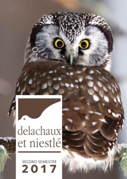Catalogue Delachaux et Niestlé, second semestre 2017