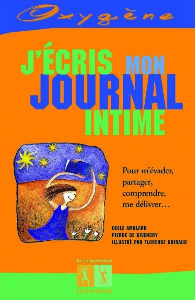 Couverture de l'ouvrage J'écris mon journal intime