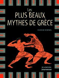 Couverture de l'ouvrage Les Plus beaux mythes de Grèce
