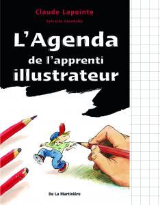 Couverture de l'ouvrage L'Agenda de l'apprenti illustrateur