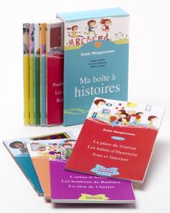Couverture de l'ouvrage Ma boîte à histoires