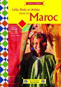 Couverture de l'ouvrage Leila, Reda et Anissa vivent au Maroc