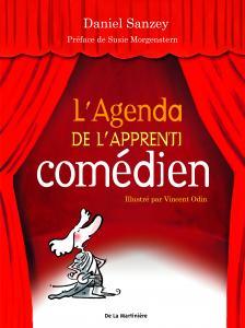 Couverture de l'ouvrage L'Agenda de l'apprenti comédien