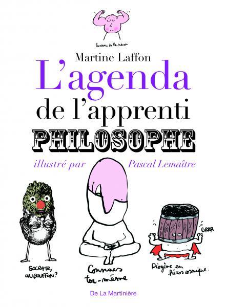 Couverture de l'ouvrage L'Agenda de l'apprenti philosophe