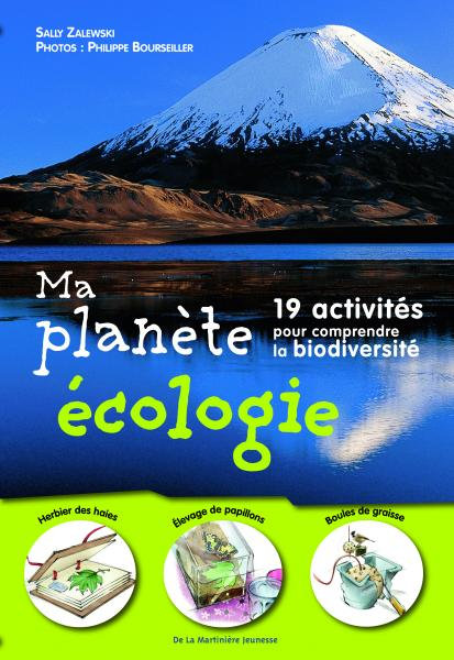 Couverture de l'ouvrage Ma Planète écologie