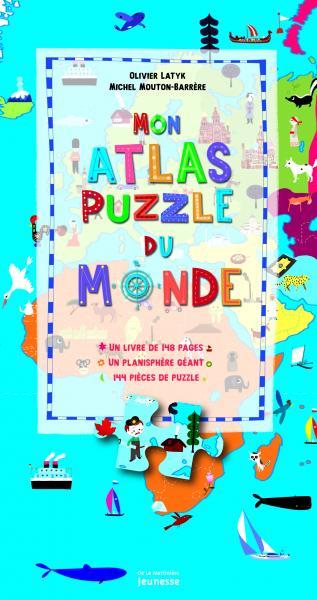 Couverture de l'ouvrage Mon atlas puzzle du monde
