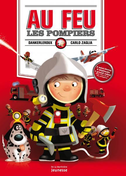 Couverture de l'ouvrage Au feu les pompiers !