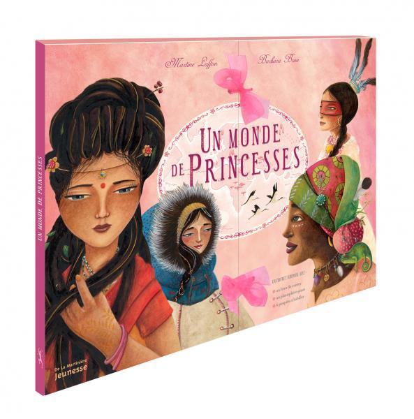 Couverture de l'ouvrage Un monde de princesses