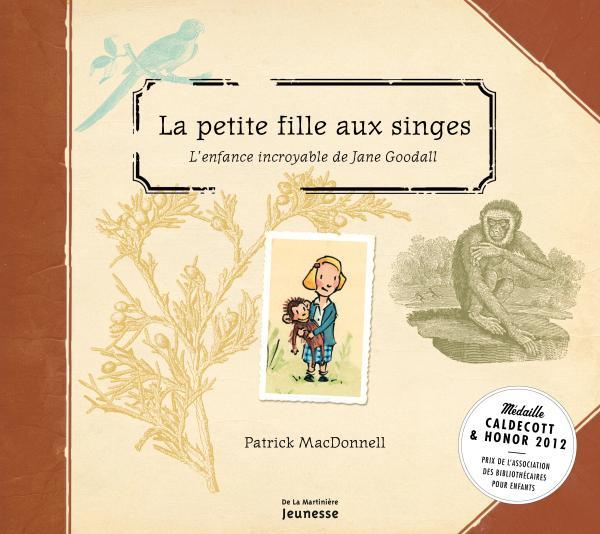 Couverture de l'ouvrage La petite fille aux singes