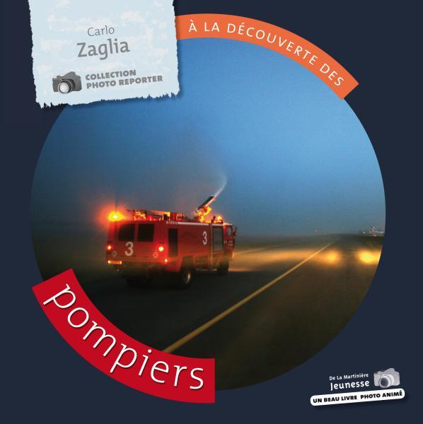Couverture de l'ouvrage À la découverte des pompiers