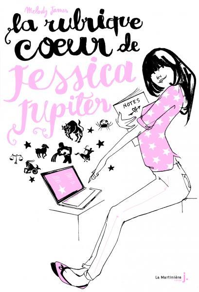 Couverture de l'ouvrage La Rubrique coeur de Jessica Jupiter