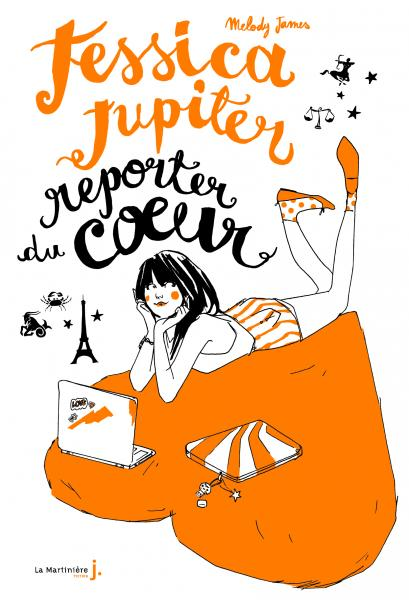 Couverture de l'ouvrage Jessica Jupiter reporter du coeur